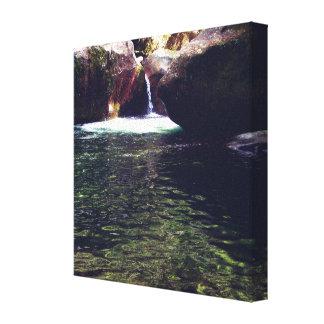 8x8 Canvas - Midnight Hole