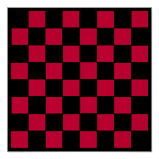"""8x8 Chess TAG Grid (1-1/4"""" fridge magnets) Posters"""