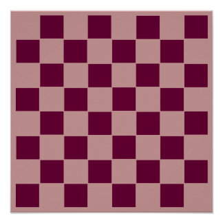 """8x8 Chess TAG Grid (1-1/4"""" fridge magnets) Poster"""
