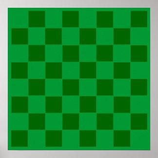 8x8 Football Chess TAG Grid (Fridge Magnets) Poster