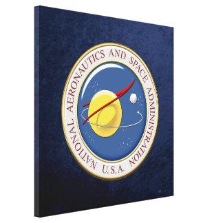 [900] NASA Emblem [3D] Canvas Print