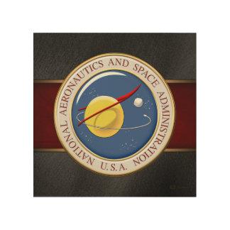 [900] NASA Emblem [3D] Wood Print