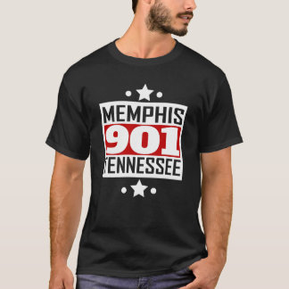 901 Memphis TN Area Code T-Shirt