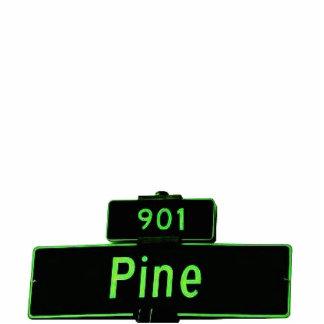 901 Pine Sign Keychain