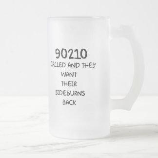 90210 llamado y quieren sus patillas traseras taza