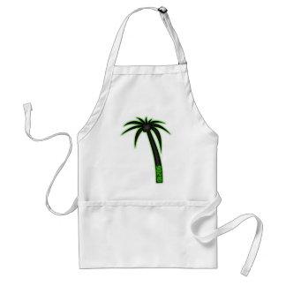 90210 Palm Tree Adult Apron