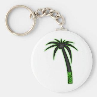 90210 Palm Tree Keychain
