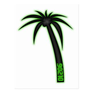 90210 Palm Tree Postcard