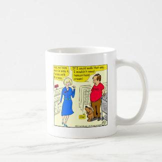 907 if I could walk that way cartoon Coffee Mug
