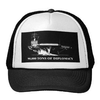 90.000 toneladas de diplomacia gorras