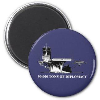 90.000 toneladas de diplomacia imán para frigorífico