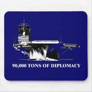 90.000 toneladas de diplomacia tapete de ratón
