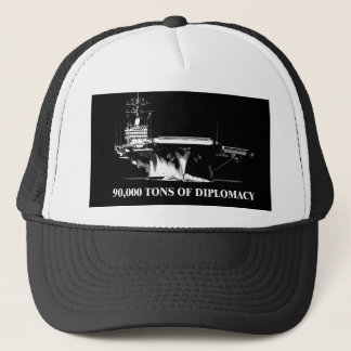 90,000 tons of diplomacy trucker hat