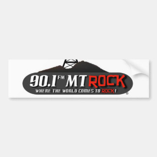 90,1 Pegatina para el parachoques de MtRock Pegatina De Parachoque