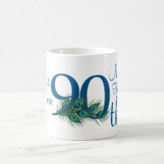 # 90 - 90th Wedding Anniversary or 90th Birthday Coffee Mug