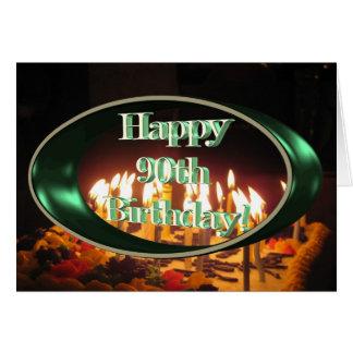 90.a mamá feliz del cumpleaños felicitacion