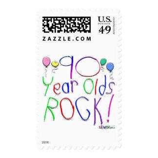 ¡90 años de la roca! sello