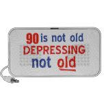 90 años no son viejos portátil altavoz
