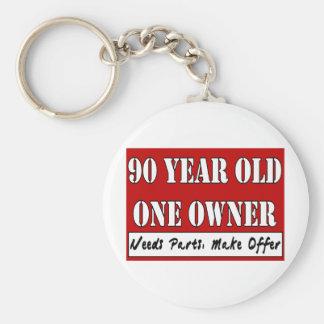90 años, un dueño - las piezas de las necesidades, llaveros