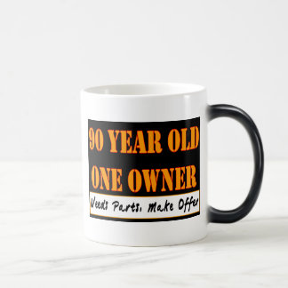 90 años, un dueño - las piezas de las necesidades, tazas de café