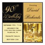 90.as invitaciones elegantes de la fiesta de invitación