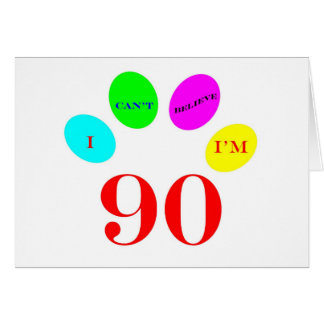 90 Balloons Cards