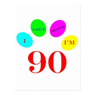 90 Balloons Post Card
