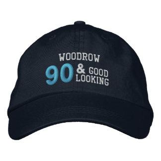 90 Birthday Good Looking BLUE C02 Cap