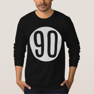 90 Black/White T-Shirt
