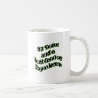 90 butt-load classic white coffee mug