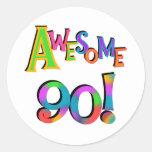 90 camisetas impresionantes y Gifs del cumpleaños Pegatinas