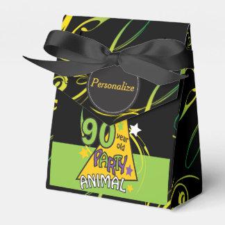 90 cumpleaños del juerguista   de los años 90.o caja para regalos