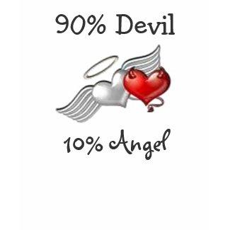 90% Devil 10% Angel shirt