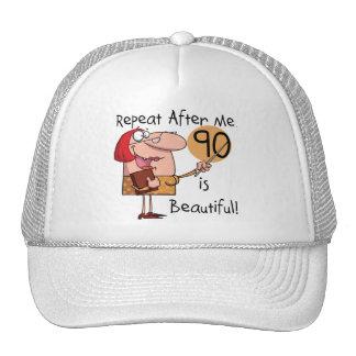 90 es camisetas y regalos hermosos gorra
