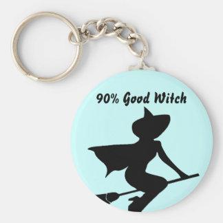 90% Good Witch Key Chain