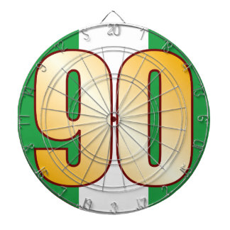 90 NIGERIA Gold Dartboards