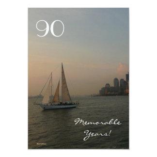 90.o Celebración/navegación del cumpleaños en la Comunicado Personalizado