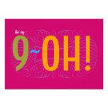 ¡90.o cumpleaños - el 9-OH grande!