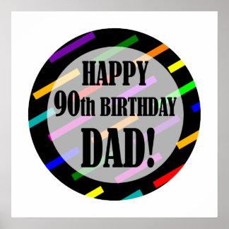 90.o Cumpleaños para el papá Poster