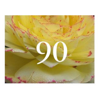 90.o Cumpleaños Tarjetas Postales