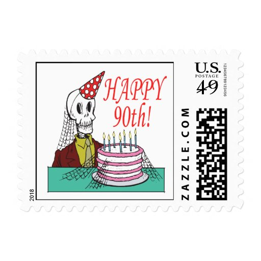 90.o feliz sellos