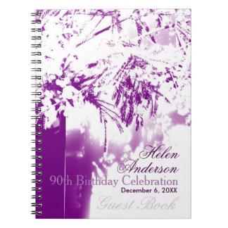 90.o GuestBook del ramo de la flor de la Note Book