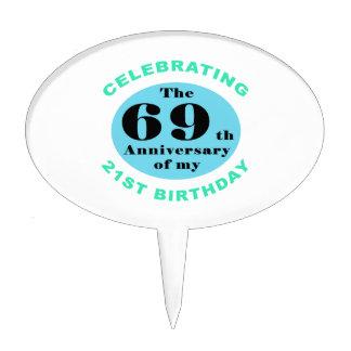 90.o Humor del cumpleaños Decoración Para Tarta