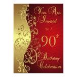 90.o Invitación personalizada celebración del