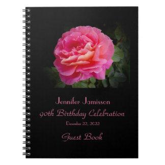 90.o Libro de visitas de la fiesta de cumpleaños, Cuadernos