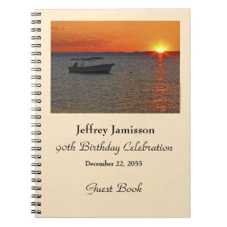 90.o Libro de visitas de la fiesta de cumpleaños, Libros De Apuntes