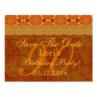 90.o Reserva del cumpleaños el cordón del bronce y Postales