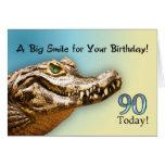 90.o Tarjeta de cumpleaños