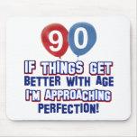 90.os diseños del cumpleaños alfombrillas de raton