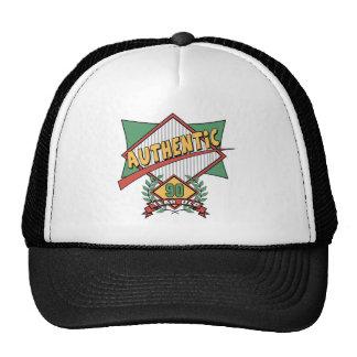 90.os regalos de cumpleaños auténticos gorras de camionero